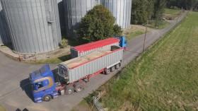 Transporting malting barley to Highland Grain